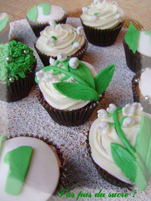 cupcake muguet 1er mai