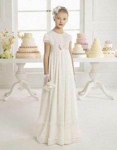 Robe blanche pour premiere communion