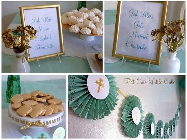 décoration communion décoration confirmation