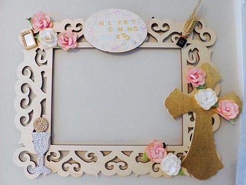 décor photobooth communion