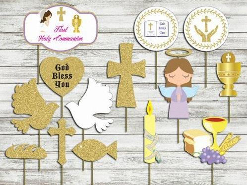 accessoires photobooth communion