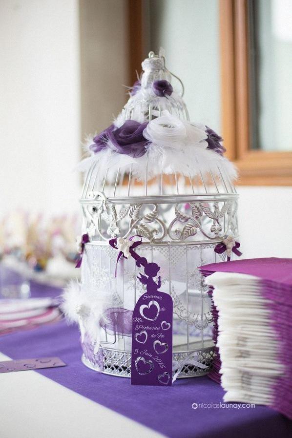 décoration fête communion profession de foi