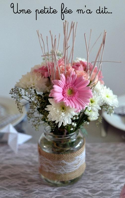 fleurs décoration communion profession de foi