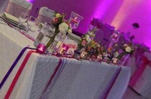 decoration table communion