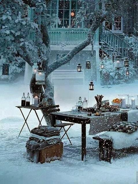 garden party hiver