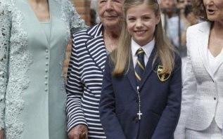 La communion de l'infante Sofia d'Espagne : une famille royale très chic