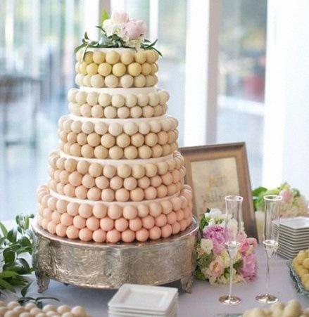 pyramide de cake pops