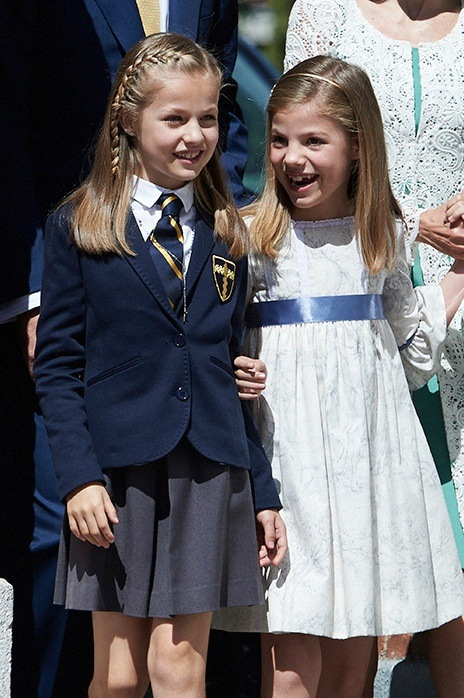 communion princesse Leonor d'Espagne