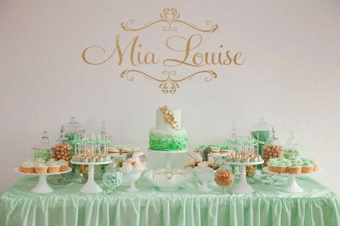 fete mint rose gold