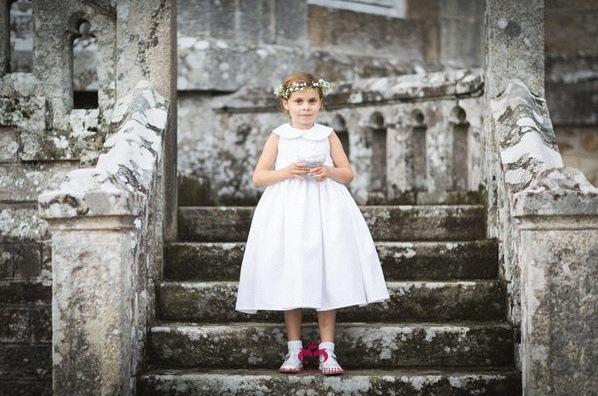 tenue de communion confirmation fille