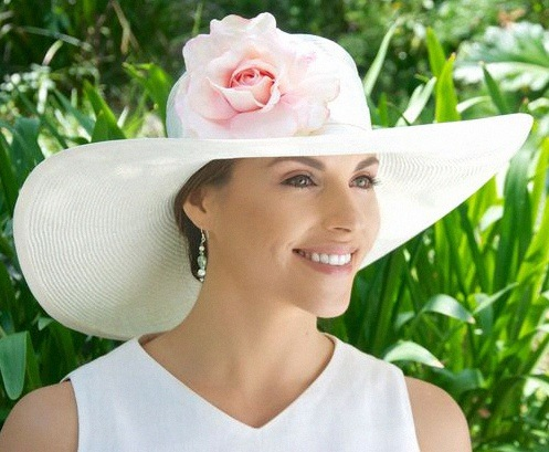 chapeau de ceremonie mariage