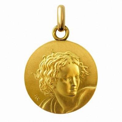 medaille bapteme communion anne.k