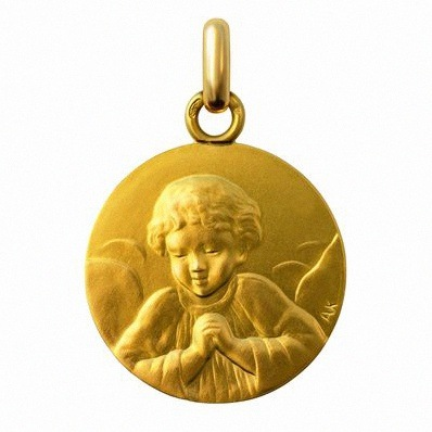 medaille bapteme communion anne.k