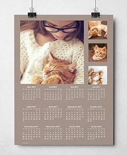 calendrier photo personnalisé